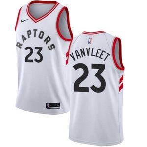 Toronto Raptors Fred VanVleet White Jersey